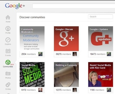 Everything you need to know about Google + Communities | Writing for Social Media | Scoop.it