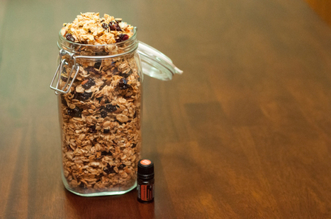 Cinnamon Almond Granola | Essential Oils Recipe | Scoop.it