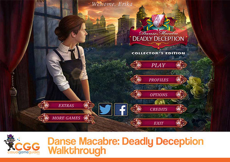Danse Macabre: Deadly Deception Walkthrough: From CasualGameGuides.com | Casual Game Walkthroughs | Scoop.it