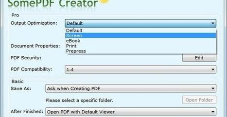 SomePDF Creator, convierte cualquier documento imprimible en PDF   Aprendiendoaenseñar   Scoop.it
