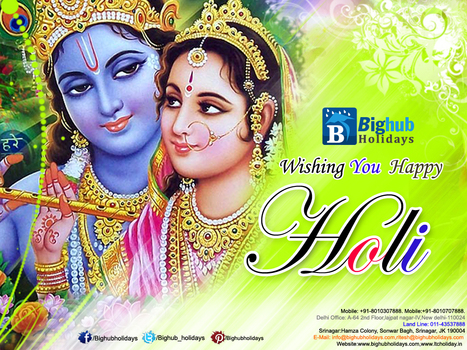 Bighub Holidays Wishing  You Happy Holi 2014 | Holiday Packages | Scoop.it
