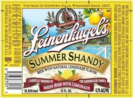 Leinie's Summer Shandy hits the big time | Craft Beers | Scoop.it