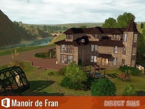 Téléchargement Les Sims 3 - Manoir de Fran - Direct Sims | Direct Sims | Scoop.it