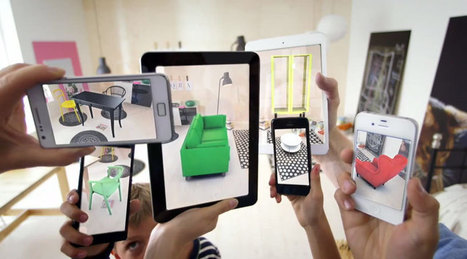 place IKEA furniture in your home with augmented reality app | QRdressCode | Scoop.it