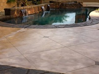 Stamped Concrete Pool Decks - Pool Deck Designs, Patterns and Colors - The Concrete Network | New Products | Scoop.it