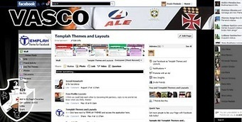 Tema para Facebook - Vasco | Themes for Facebook | Scoop.it