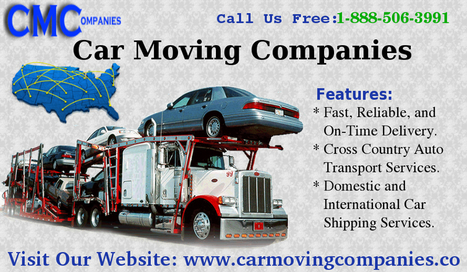 Professional and Reliable Auto Transport Service Companies | carmovingcompanies | Scoop.it