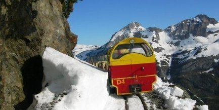 Artouste : Ré-ouverture au ski avec le petit train ce week-end du 1er juin   World tourism   Scoop.it