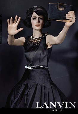 Edie Campbell Models Lanvin's Fall 2013 Collection (Forum Buzz) - The Fashion Spot | Fashion | Scoop.it