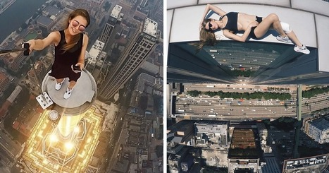 This Russian Girl Takes The Riskiest Selfies Ever (Don't Try This Yourself) | Xposed | Scoop.it