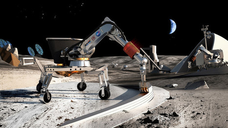 No joke: these guys created a machine for printing houses on the Moon | Space matters | Scoop.it