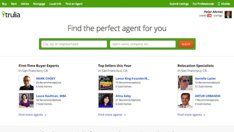 Trulia's Agent Directory Finds You a Trustworthy Real Estate Agent | Self-Defense | Scoop.it