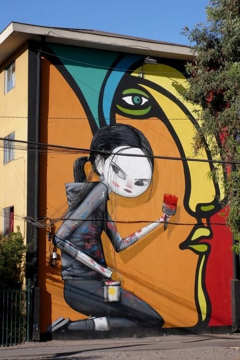 Street Art from Santiago de Chile | Brand Management | Scoop.it