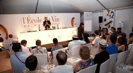 A la découverte de l'Ecole du Vin de Bordeaux - Bordeaux Wines | Oenotourisme en Entre-deux-Mers | Scoop.it