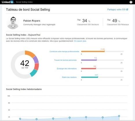Mesurer son e-réputation LinkedIn avec le Social Selling Index | e-reputation | Scoop.it