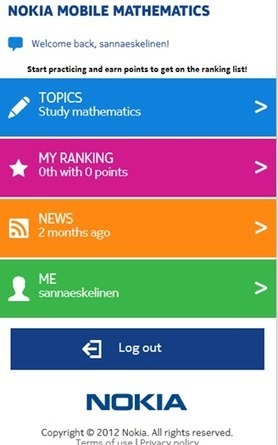 Nokia Mobile Mathematics - Nokia Mobile Mathematics | Lindolfo Martelli | Scoop.it