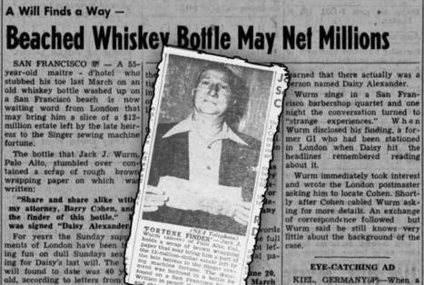 Strange But True Message In A Bottle Stories | Strange days indeed... | Scoop.it