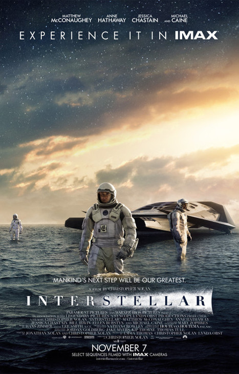 Google And Paramount Pictures Partner On First-Ever Multi-Platform Pact for Christopher Nolan's INTERSTELLAR - We Are Movie Geeks   Digital Cinema - Transmedia   Scoop.it
