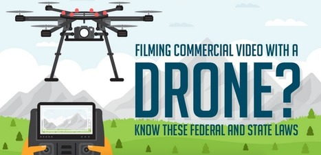 Helpful Infographic Gives All the Legal Information You Need to Know Before Flying a Drone | Library Collaboration | Scoop.it