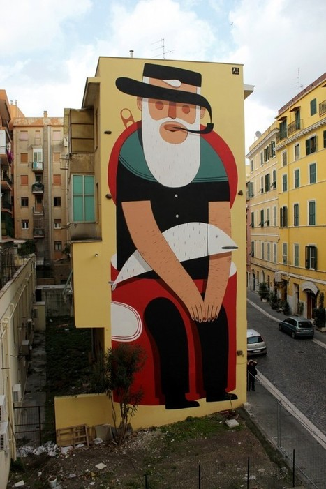Street Art by Agostino Iacurci | Socialart | Scoop.it