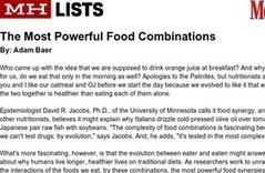 Powerful Food Combinations | Superfoods | Scoop.it