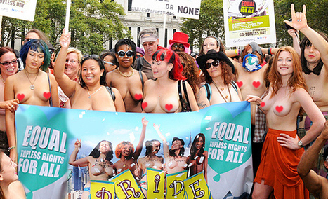 Women In Montreal Will Be Allowed To Go Topless In Public This Summer 2016 | Vloasis sex corner | Scoop.it