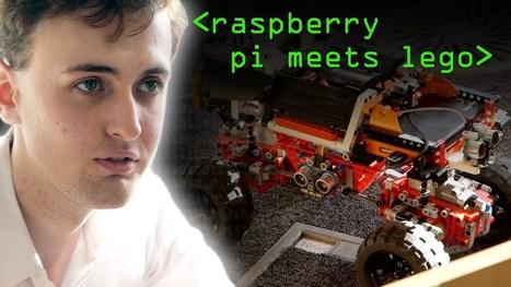 Raspberry Pi Lego Robot #piday #raspberrypi @Raspberry_Pi | Raspberry Pi | Scoop.it
