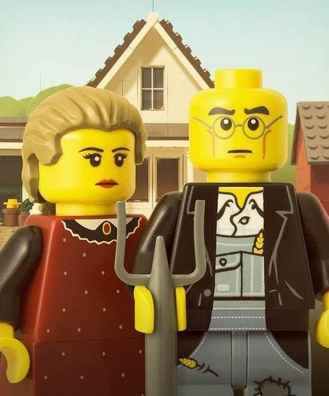 33 excellentes photographies de LEGO par Powerpig | Street-art Design Grafititi et Gros minet | Scoop.it
