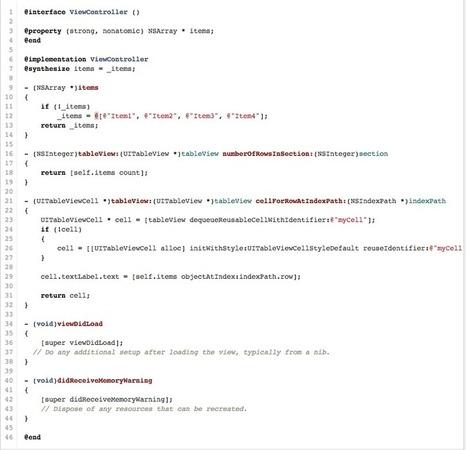 Creating Custom UITableViewCell using Nib (.xib) files in XCode | Reputation Management | Scoop.it