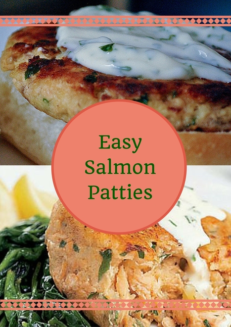 Easy Salmon Patties with Breadcrumbs | Best Easy Recipes | Scoop.it