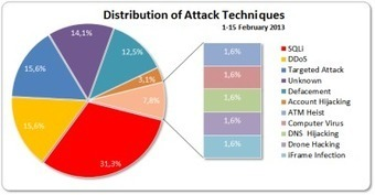 1-15 February 2013 Cyber Attacks Statistics | Internet and Cybercrime | Scoop.it