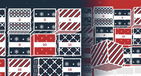 Cubes Advent Calendar | Codrops | Les belles ressources ! print - web - digital | Scoop.it