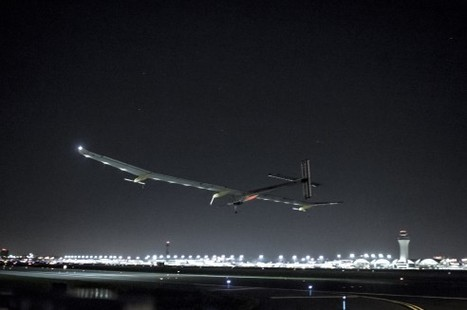 Solar Impulse has taken off from St.Louis and flying to Cincinatti | cool stuff from research | Scoop.it