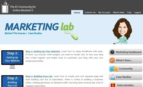 The Marketing Lab By Kim Roach: Website Review   Internet Marketing And Strategies   Scoop.it