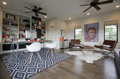 9 conseils pour un espace bureau efficace chez vous   Décoration maison intérieure et extérieure   Scoop.it