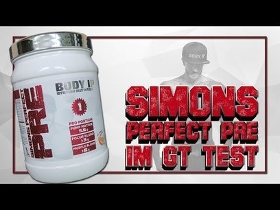 SIMONS PERFECT PRE IM TEST | BODY IP SYSTEM NUTRITION  PRE WORKOUT SHAKE BOOSTER TEST | Health And Fitness | Scoop.it