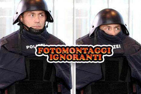 FOTOMONTAGGI IGNORANTI: I fotomontaggi più ignoranti sulla nuova divisa della Polizia Tedesca prese dal Web! | fotomontaggi | Scoop.it