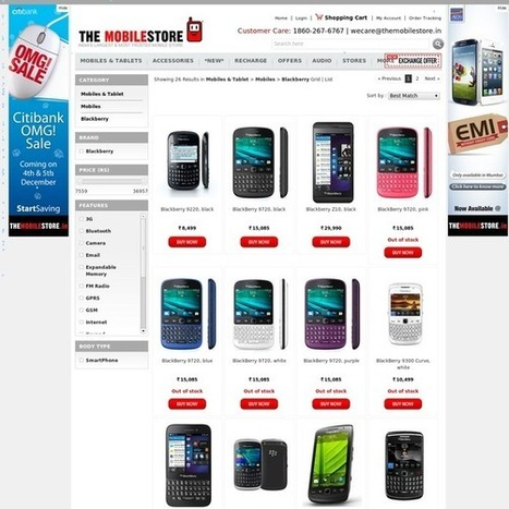 Blackberry Mobiles Online with best price | Mobile & Tablets | Scoop.it