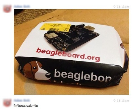 ได้รับ beaglebone แล้ววว   Beaglebone   Scoop.it