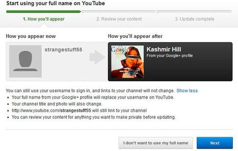 Google anima a los usuarios de YouTube a mostrar su nombre real, ¿llega el fin de los trolls? | Formacion y Trucos o consejos | Scoop.it