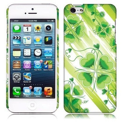 Customize w/ Apple iPhone 5 iPhone 5s Back Cover Case - Lucky Clover Shipped Free | What is the best Accessories for Cell Phone, tablet and MP3 | Scoop.it