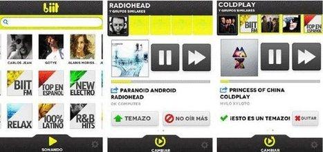 Llegó la nueva versión de biit, la app de música que aprende de nuestros gustos | VIM | Scoop.it