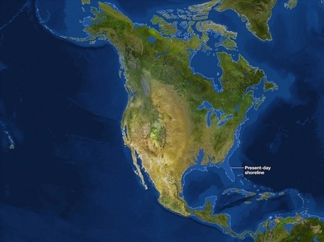 Maps of What the Earth Would Look Like If All Ice Melted » Fascinating Pics | Geokult | Scoop.it