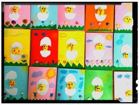 Hatching Chicken Egg Easter Card   English Teaching News   Scoop.it