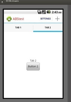 Android Java TI: ActionBar/ActionBarSherlock Tabs | Androidteo | Scoop.it