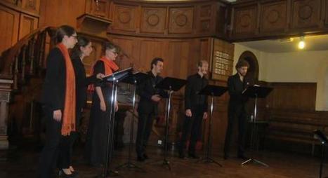 Roubaix: l'ensemble Biscantor chante la beauté au temple - Nord Eclair.fr | La Chapelles des Flandres | Scoop.it