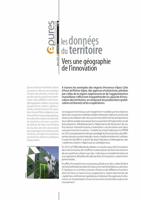 Saint-Etienne - Vers une géographie de l'innovation | développement économique et territoires | Scoop.it