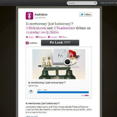 Audioboo now integrates with Twitter, offering in-tweet podcast listening (Wired UK) | Radio 2.0 (En & Fr) | Scoop.it