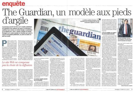 The Guardian, un modèle aux pieds d'argile | DocPresseESJ | Scoop.it