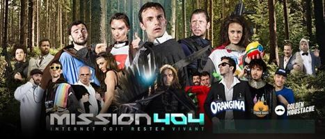 Mission 404 : le court métrage Orangina qui parodie internet [Humour] | Humour et Marketing | Scoop.it